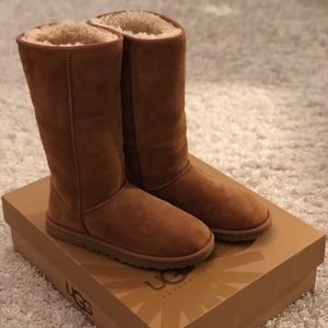 UGG Australia Classic Tall Boot in Chestnut